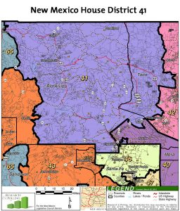 New Mexico House of Representatives District 41 Map